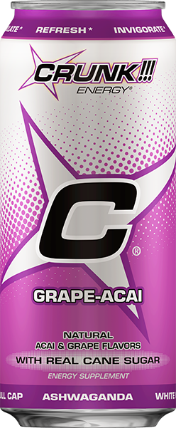 Grape Acai Crunk Can